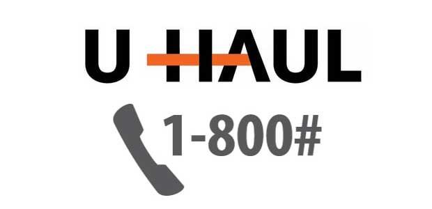 UHaul 1-800 Number