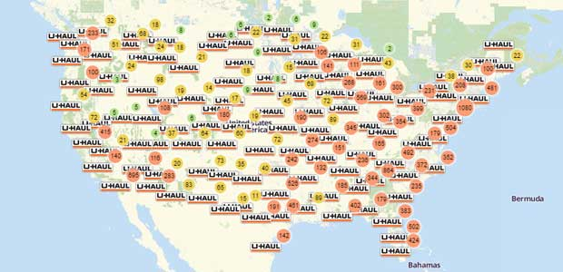 Uhaul Truck Rental Locations Near Me