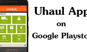 Uhaul Android App on Google Playstore
