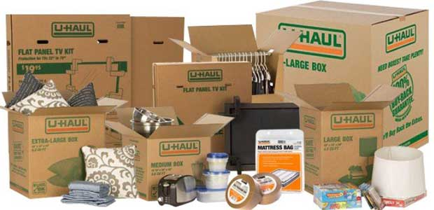 Uhaul Boxes : U-Box Moving Containers