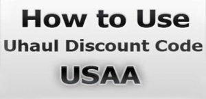 Uhaul Discount Code USAA