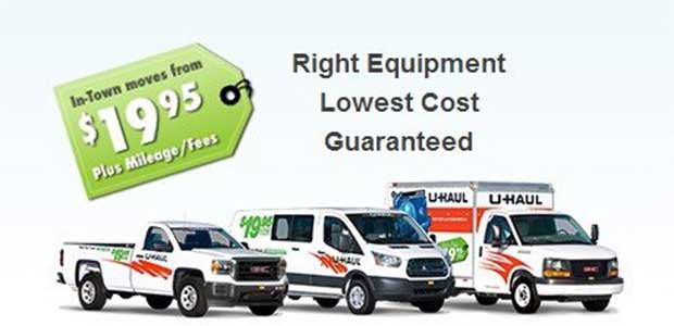 UHaul Coupons & Discount code for u haul truck rental